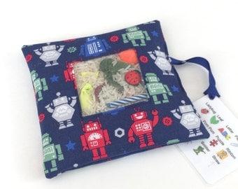 I Spy Bag - Robots Fabric