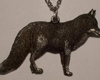 Red Fox   Pendent..
