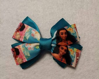 Moana Grosgrain Cosplay Hair Bow