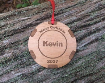 Poker Chip Ornament