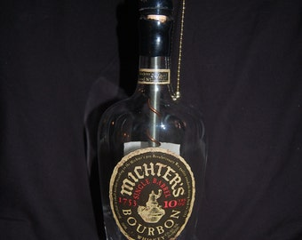 Michter's 10 year Bourbon Bottle Lamp