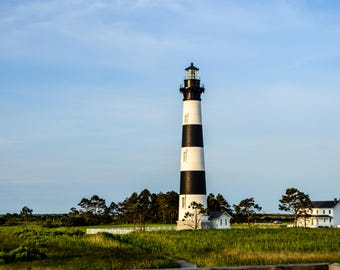 Bodie Island Lighthouse Outer Banks Photography Digital Download