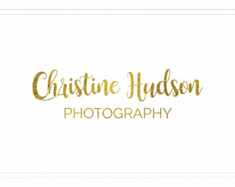Premade Photography Logo + Watermark - L112