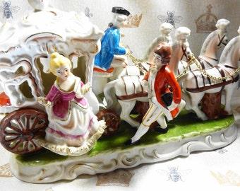 Vintage Porcelain Carriage