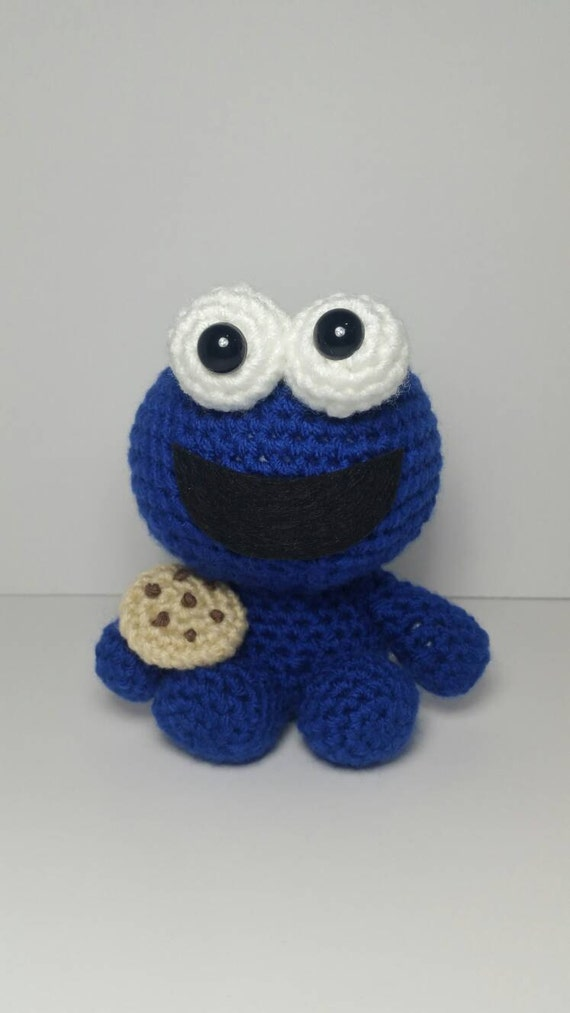 Amigurumi Cookie Monster Pattern : Crochet Amigurumi Cookie Monster