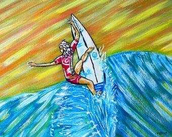 Wave Art...Surf Art by wgilroy ...Surfing Art...Beach Art...Surf Art...Beach Wall Art...Surfboard design...