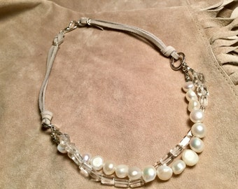 White on Ice Necklace