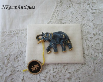 Western Germany elephant brooch