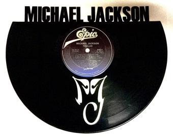Recycled Vinyl Record MICHAEL JACKSON Wall Art