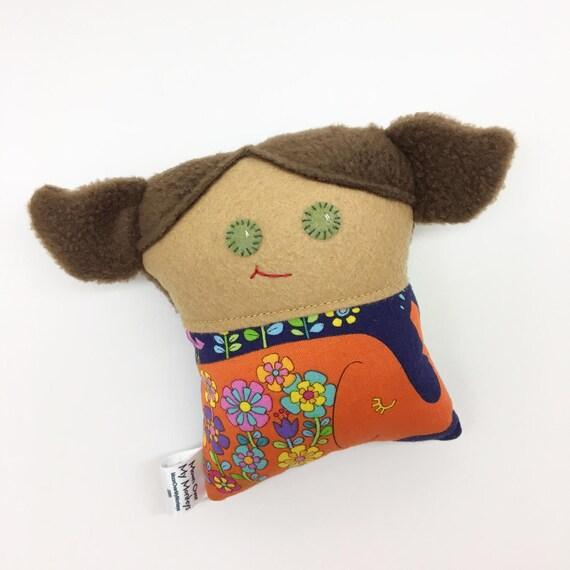 Handmade Cloth Doll, Little Miss
