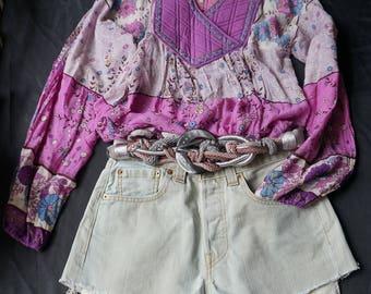 Vintage Levis Denim Shorts Hot Pants