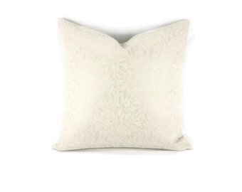 """22"""" x 22"""" Pindler Bella in the color Silver Pillow Cover"""