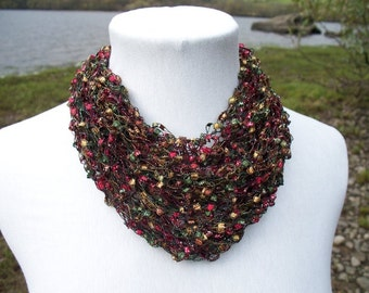 Necklace Cowl Pattern