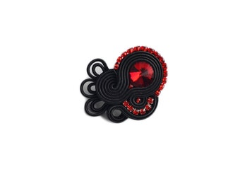 Flamenco collection-SEVILLA - Baeutiful Soutache Rings !!! anello soutache, anneau soutache