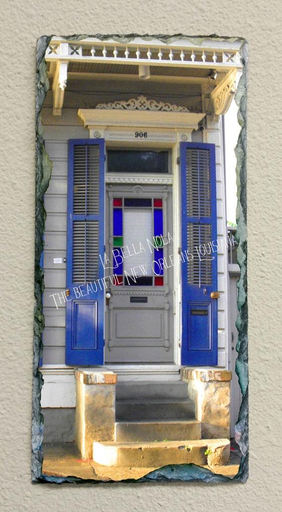 New Orleans Door 113 Slate New Orleans Art Slate Art