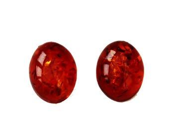 Green, Honey, Lemon Baltic Amber Oval Pieces, jewellery making, Cabochon semi precious gemstone Flat back, real Amber Bead jewelry supplies
