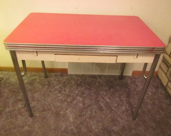 Vintage kitchen table Etsy
