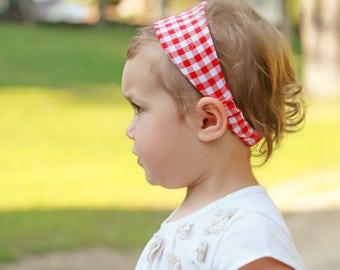 Woven Headband Pattern and Tutorial - Newborn to 12 years