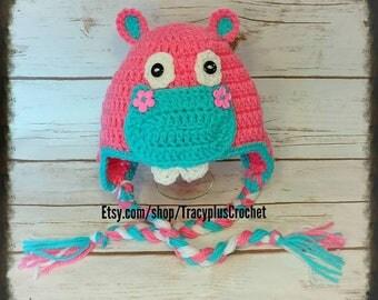 Hippo hat. Hippo beanie. Crochet Hippo hat. Crochet Hippo beanie. Hippopotamus hat. Crochet Hippopotamus beanie. Hippopotamus.