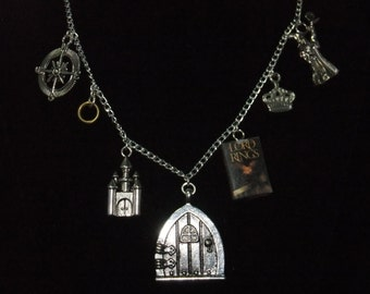 Lord of the Rings Book Necklace - Great Gift for Book Lovers!