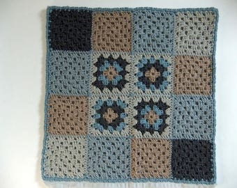 crochet Cushion cover, cushion cover, crochet, granny squares