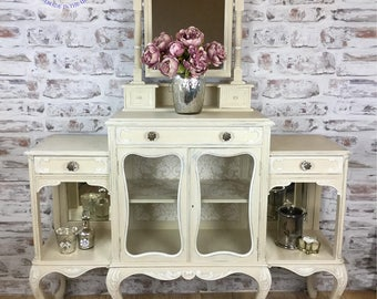 Victorian Chiffonier/Vintage dresser/cabinet/dressing table/ sideboard