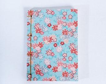 maple blue notebook