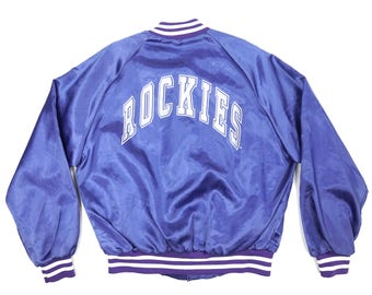 Vintage Chalkline MLB Colorado Rockies Jacket..
