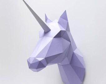 Paper Horse / Unicorn Folding Kit