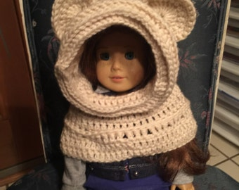 Bear Hooded Cowl