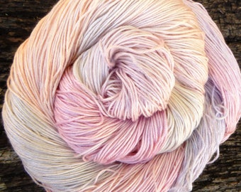 MULBERRY SILK 4ply / fingering, 200 gms available, super-soft Pure Silk, 100 gms 400 mts Mollycoddle Yarns, hand dyed