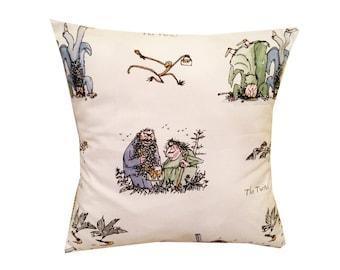 Designer twits roald dahl school childrens cushion cover