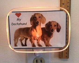 Dachshund(Brown) Night Light