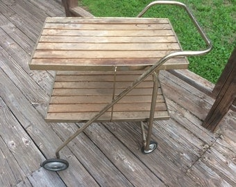 Vintage serving cart, fully customizable