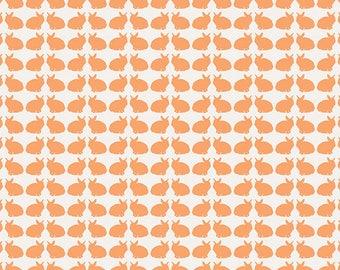 Curiosities - Curious Bunnies by Jeni Baker for Art Gallery Fabrics, 1/2 yard, CUR-19138