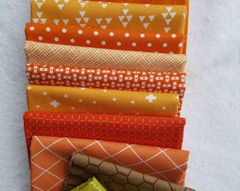 Pumpkin Quilt Bundle for Cluck Cluck Sew Pumpkin Quilt