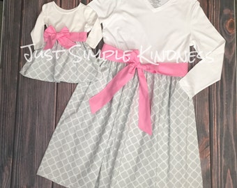 Mommy & Me Dresses, Mommy and Me outfits, Mother Daughter matching dress, mommy and me, mommy and me dress, mother daughter dress, mommy