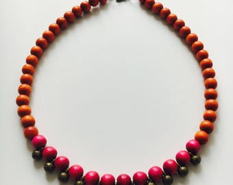 Morrocan inspired necklace