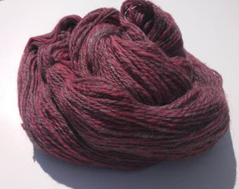 Handspun alpaca/merino yarn - sport weight - 398 yds