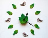 Birds wall clock Nature&#...