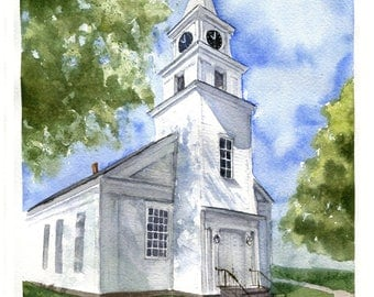 Church By The Sea - Notecards