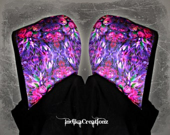 BOTANICAL // Custom Organic Cotton Hood!