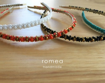 Beaded Headband – Women – Beads – Romea Accessories – Hair Accessories