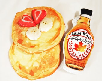 Creative Play Pancakes and Syrup playset -plush soft