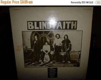 Save 30% Today Vintage 1969 Vinyl LP Record Blind Faith Self Titled Eric Clapton Steve Winwood 6726