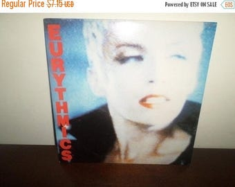 Save 30% Today Vintage 1985 Vinyl LP Record Be Yourself Tonight The Eurythmics Near Mint Condition 4062