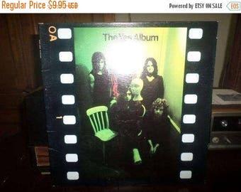 Save 30% Today Vintage 1971 Vinyl LP Record The Yes Album Atlantic Records Excellent Condition 6120