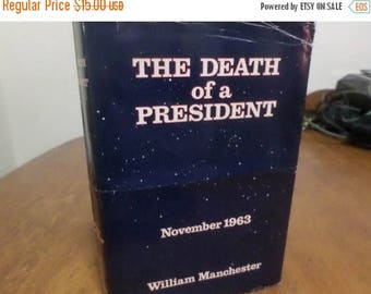 Save 25% Now Death of A President (John F Kennedy) by William Manchester 1967 Hardcover Book w/Dustjacket