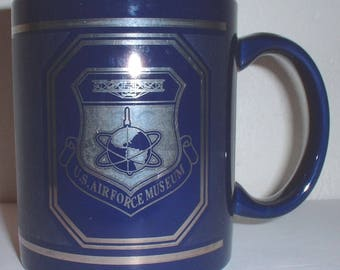 USAF US Air Force Museum ceramic coffee mug