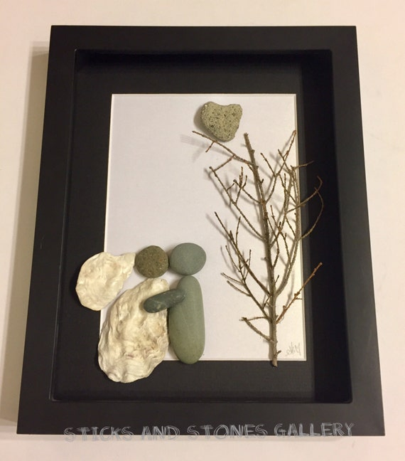 Unique Wedding Gifts Vancouver : Wedding Gift, Unique Engagement Gift, Pebble Art, Unique Wedding Gift ...